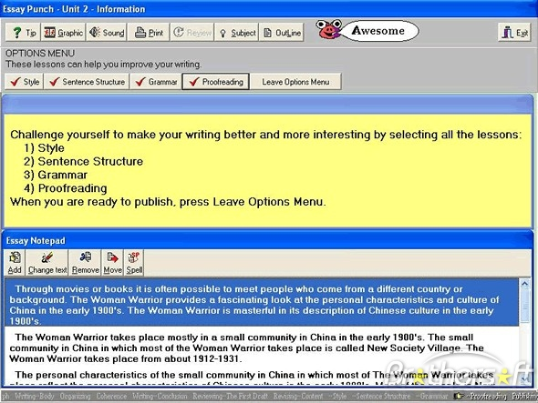 have you heard of essay punch writing software check it out  hence this software
